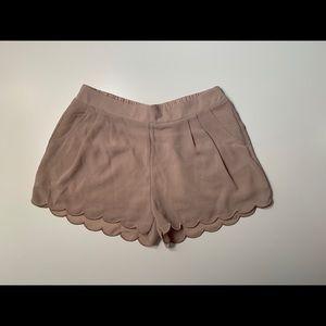 Scalloped Shorts ✨